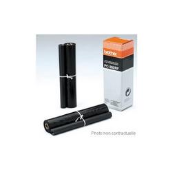 ELBA Porte-revues en PVC soudé, dos de 7 cm 32x24cm, livré à plat. Coloris Noir