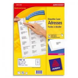 JPC Boîte de 100 craies anti-poussière coloris Blanc