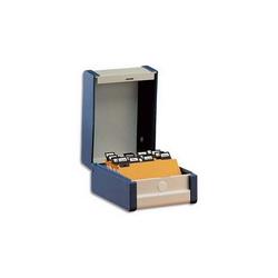 OBLIQUE AZ Paquet de 10 dossiers suspendus ARMOIRE en polypro opaque. Fond 30, bouton-pression. Bleu