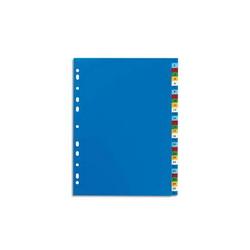 TARIFOLD Sachet de 6 porte documents à Velcro A5 TCollection en PP 20/100e coloris assortis