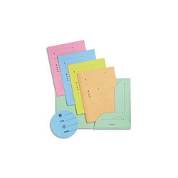 ESSELTE Sachet de 100 pochettes perforées A4 polypropylène lisse 7.5/100e incolore