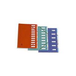 EXACOMPTA Jeu de 12 intercalaires polypro 3.5/10è format maxi A4+