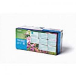 TARIFOLD sachet de 5 portes documents à velcro A4 Tcollection en PP 20/100e incolore