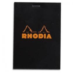RHODIA Bloc de direction couverture Orange 80 feuilles (160 pages) format A4 réglure 5x5