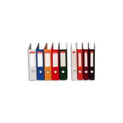 ESSELTE Classeur à levier RAINBOW en carton, dos de 8 cm, coloris Bleu