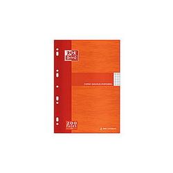 CONQUERANT C9 Cahier de dessin piqûre 48 pages unies 24x32cm. Couverture polypro incolore