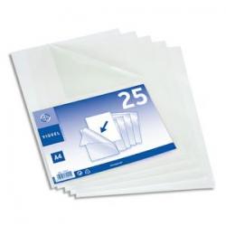 DURABLE Boîte 10 Portes-carte fermés pour 1 carte, double perfo sans attache - L8,5 x H 5,4 cm noir