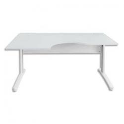 MT INTERNATIONAL Module rectangulaire pour table de réunion Chêne clair Impact L108 x H73 x P120 cm
