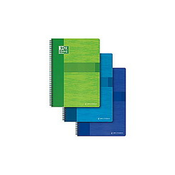 CLAIREFONTAINE Feuillets mobiles 21x29,7 cm 200 pages grands carreaux blancs 90g - Sous étuis carton