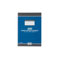 CLAIREFONTAINE Feuillets mobiles 21x29,7 cm 200 pages petits carreaux blancs 90g - Sous étuis carton