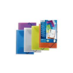 VIQUEL Trousse carrée SILVER : 20x4,5x4,5cm. PVC assortis : argent, Noir, Violet, Rose, Bleu