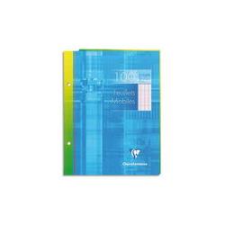 DURABLE Chemise de présentation Swingclip à clip pivotant forme ellipse - 1 à 30 feuilles A4 - Bleu
