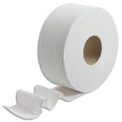 PAPERNET Colis de 6 bobines d'essuie-mains 2 plis pure ouate de cellulose L140m Blanc pour Autocut